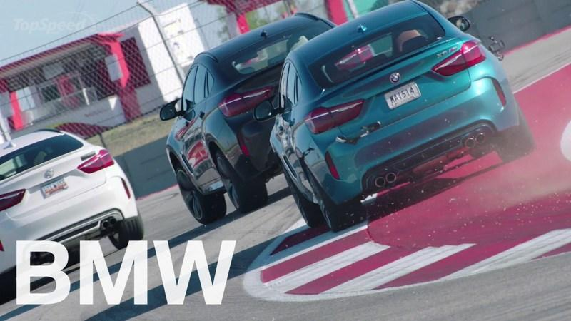 BMW X6 M In Action On The Race Track: Video
