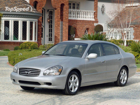 The Infiniti Q45 is a fullsize luxury car from Nissan's Infiniti marque.