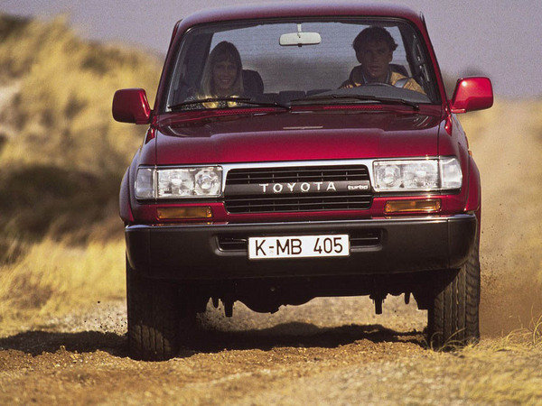 1990 - 1997 Toyota Land Cruiser 80 Series Review - Top Speed