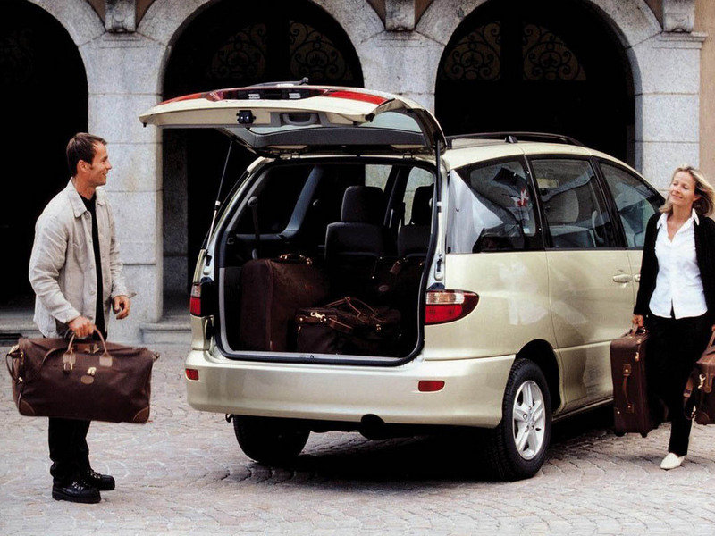 1991 toyota previa owners manual