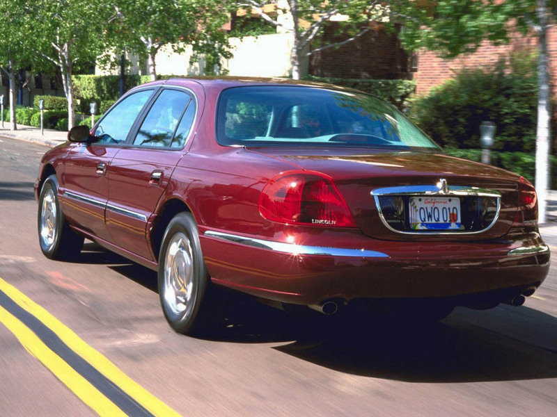 1998 2002 lincoln continental review top speed. Black Bedroom Furniture Sets. Home Design Ideas