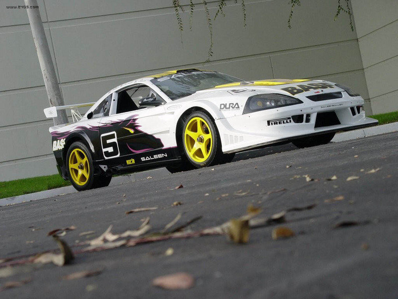 The Saleen Racecraft 420S Ford Mustang