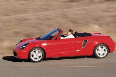 2000 2005 Toyota Mr2 Spyder Top Speed