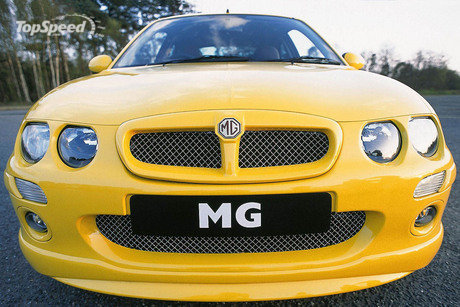 on other MG ZR models.