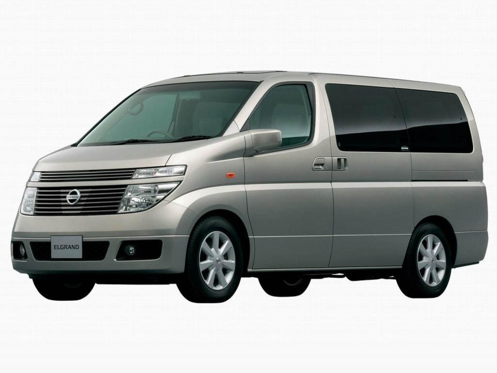 2002 Nissan Elgrand Review - Top Speed
