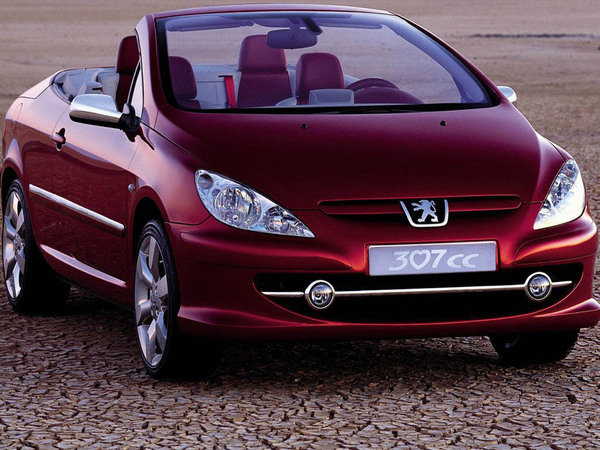 2002 peugeot 307 cc car review top speed. Black Bedroom Furniture Sets. Home Design Ideas