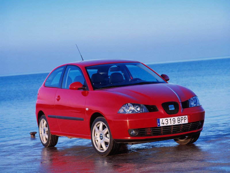 '03 SEAT Ibiza 1.4 Sport instead of the '03 SEAT Cordoba 1.4 Sport I ended