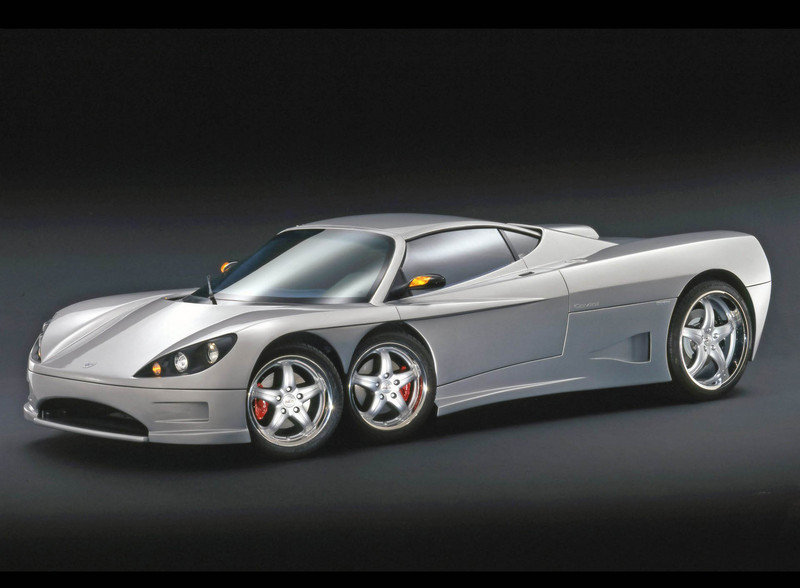 2003 C6W - The Six Wheel Sports Car