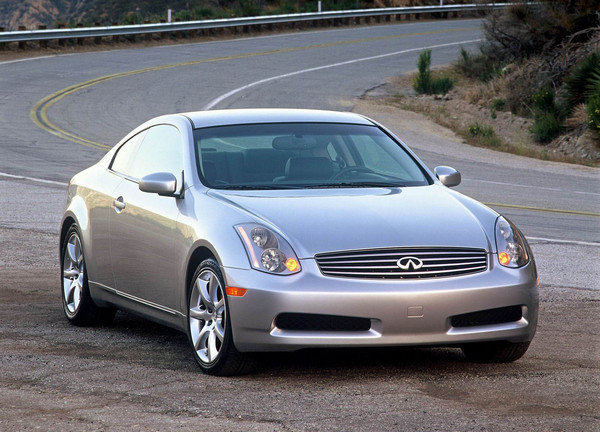 2003 Infiniti G35 Coupe | car review @ Top Speed