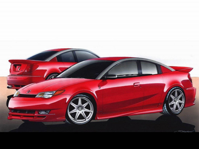 2004 - 2005 Saturn Ion Red Line