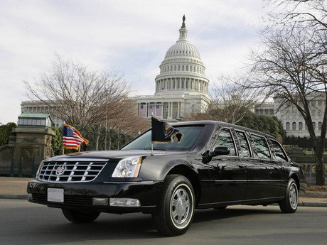 cadillac dts presidential