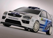 Ford Focus RS WRC and Ford Fiesta JWRC