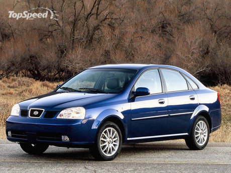 The Forenza is Suzuki's compact sedan, designed to offer value-conscious