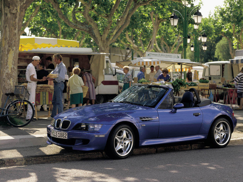 1998 - 2002 BMW M Roadster High Resolution Exterior - image 31128