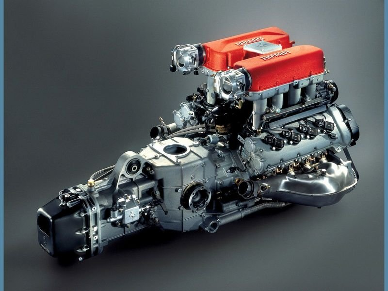 1999 - 2004 Ferrari 360 Modena High Resolution Drivetrain - image 32216