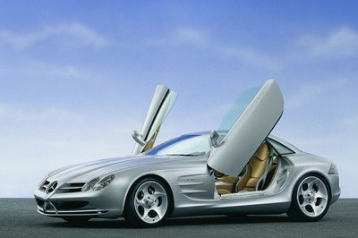2003 Mercedes Vision Slr Top Speed