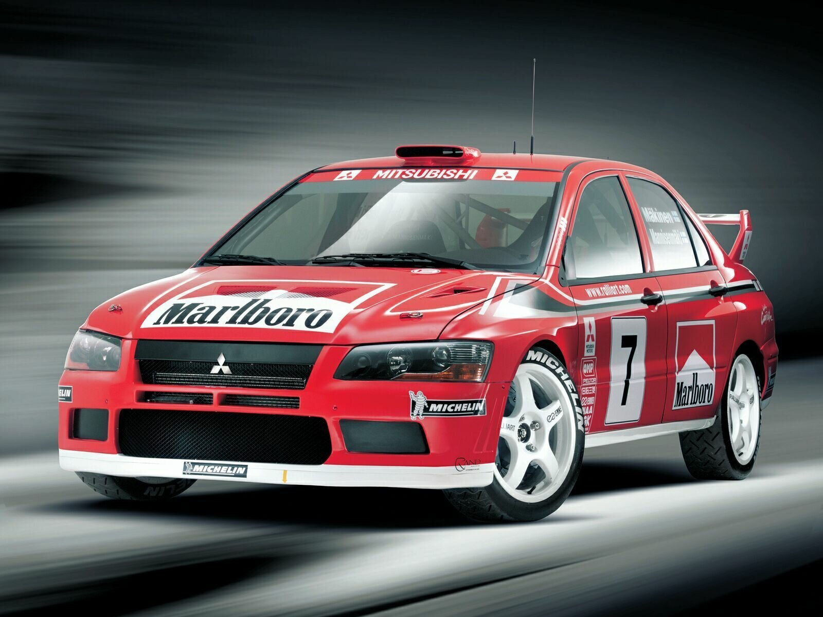 Mitsubishi Lancer Cedia CS2A WRC2 (2002) - Racing Cars
