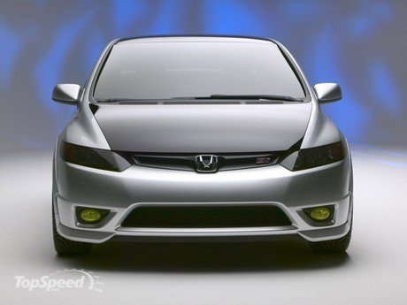 honda civic si concept. The Civic Si Concept, making its world debut today