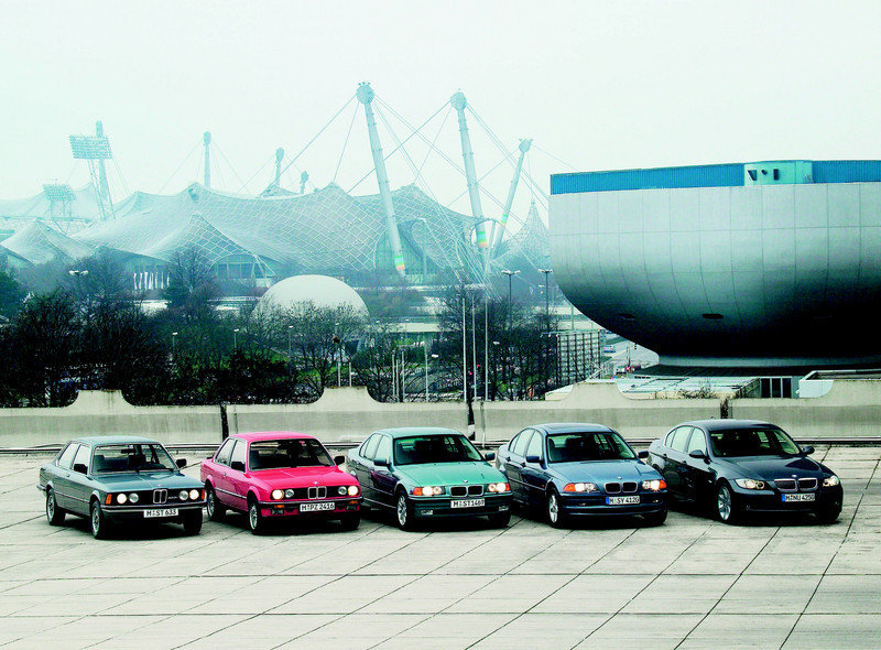 1975 The history of the BMW 3 Series