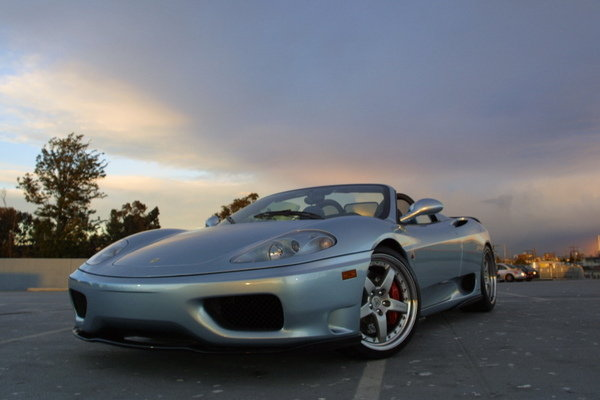 ferrari 360 spider picture