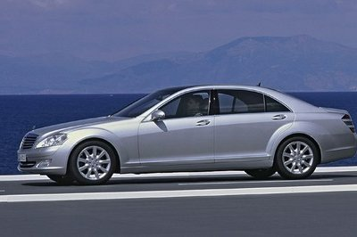 2005 Mercedes S-Class From 2005 (W221)   Top Speed