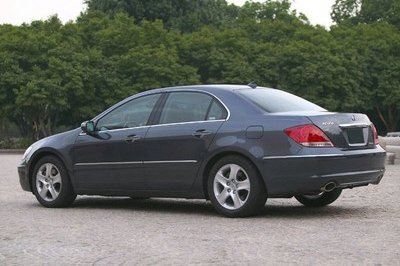 2006 Acura RL Review - Top Speed