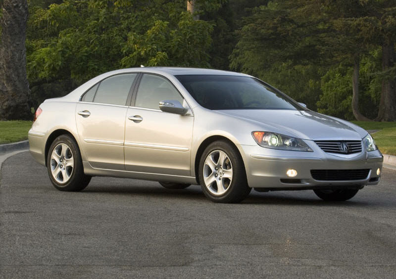 Acura RL Review Top Speed - 2006 acura rl a spec
