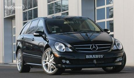 Mercedes R-Class BRABUS presents an exclusive tuning program for the new