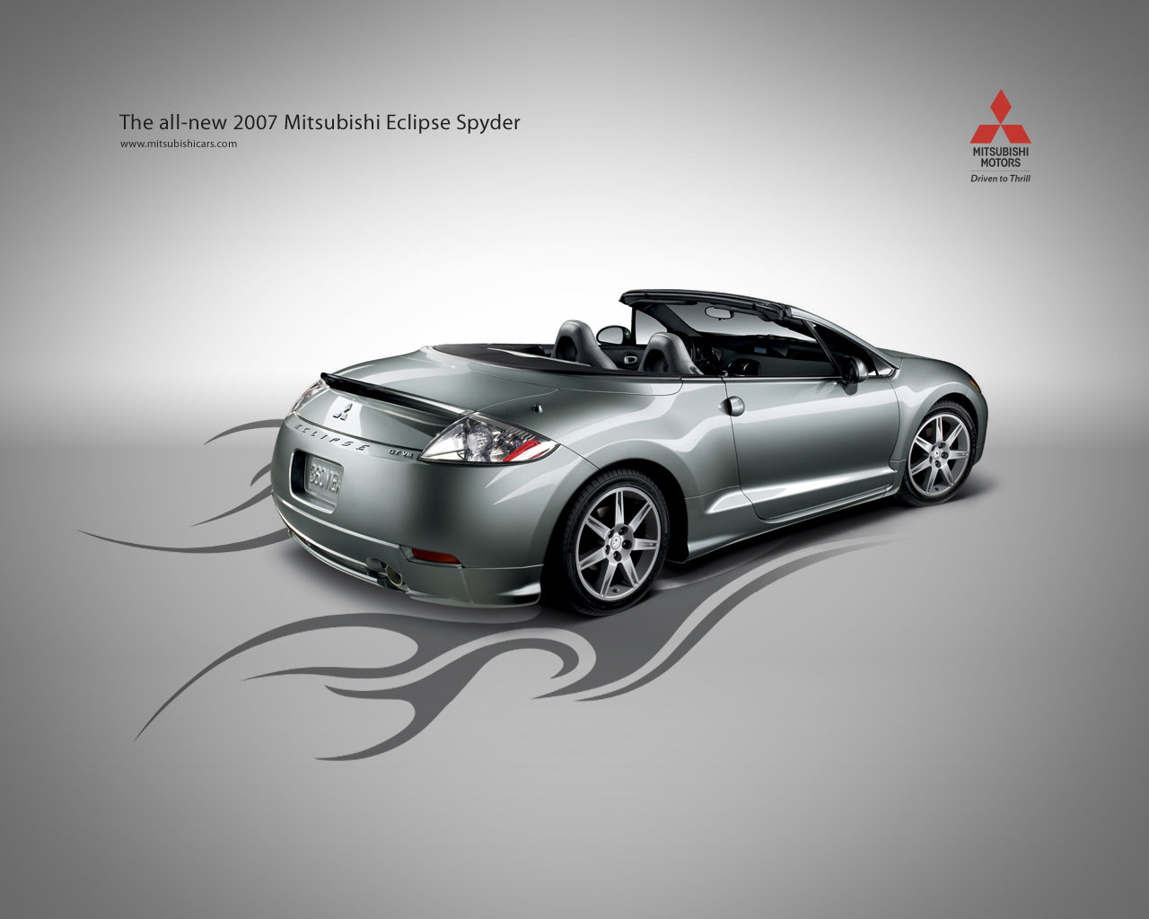 Official mitsubishi ad for my car in grey 2007 mitsubishi eclipse s 5_1280x0w jpg 1280 1024 my cool car others pinterest cars