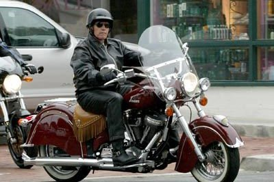 Arnold Schwarzenegger motorcycle accident