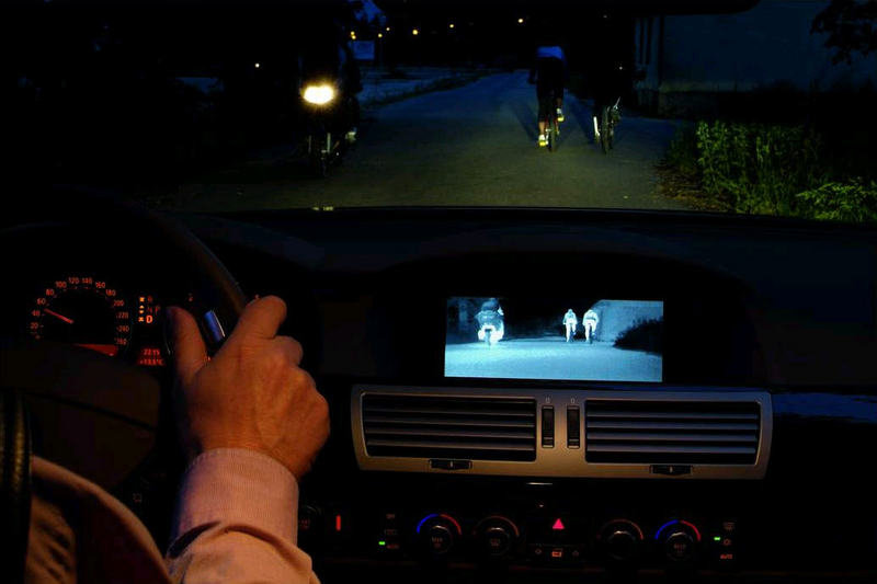 BMW Night Vision Available in the 5 and 6 Series as of March 2006