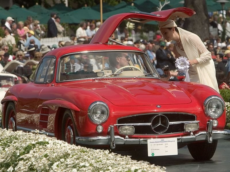 1957 - 1962 Mercedes 300SL Gullwing (W194)