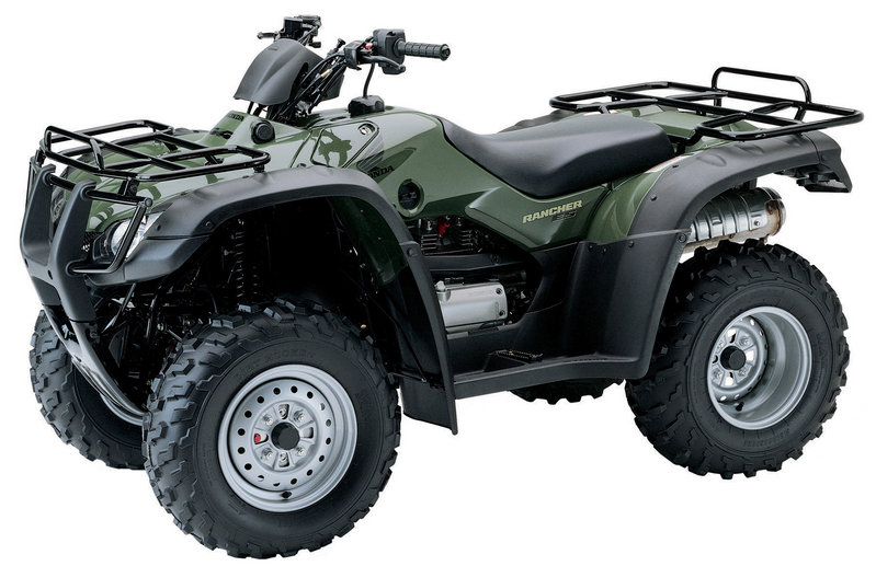 2006 Honda FourTrax Rancher 4X4 ES