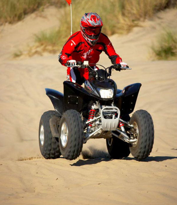Motorcycle Review Top Speed: 2006 Honda TRX250EX - Picture 42820