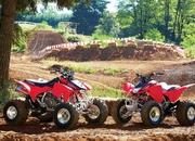 Honda TRX450R ( Kick Start )