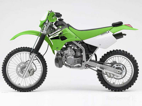 kawasaki kdx200. One of the most favored off-road motorcycles of all time is
