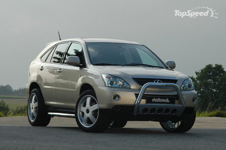 The Lexus RX400 is creating a new superlative in the segment of offroad and