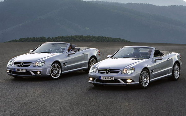 2006 mercedes benz sl 55 amg and sl 65 amg review top speed. Black Bedroom Furniture Sets. Home Design Ideas
