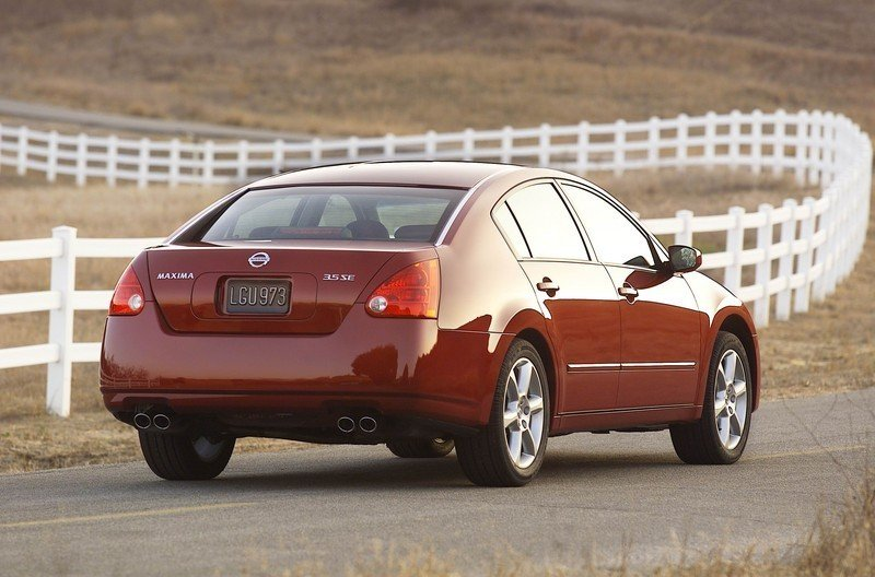 2006 Nissan Maxima SE Review Top Speed