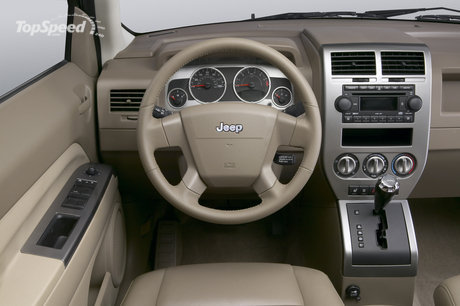 Jeep Compass Interior. Jeep Compass has many