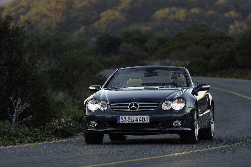 2007 mercedes sl class review top speed for 2007 mercedes benz sl500