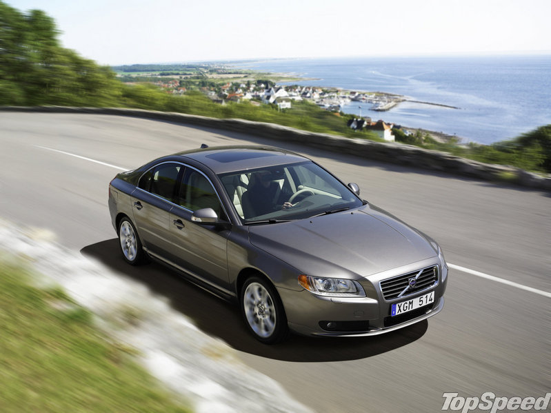 Volvo S80 unveiled at Geneva Motor Show
