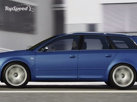audi s4 wagon. Perhaps it was part of a Christmas bonus for the employees,