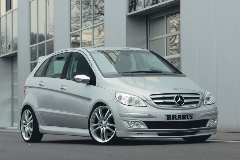 Right on time for the start of sales of the new Mercedes B-Class BRABUS