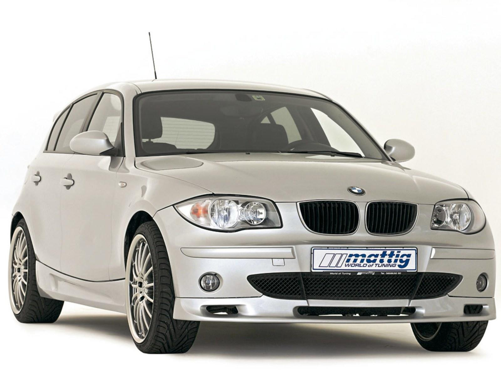 2006 bmw 1 series by mattig review top speed. Black Bedroom Furniture Sets. Home Design Ideas