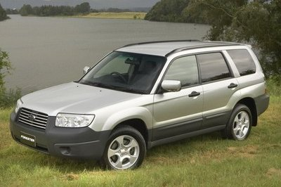 2006 Subaru Forester X Weekender Special Edition