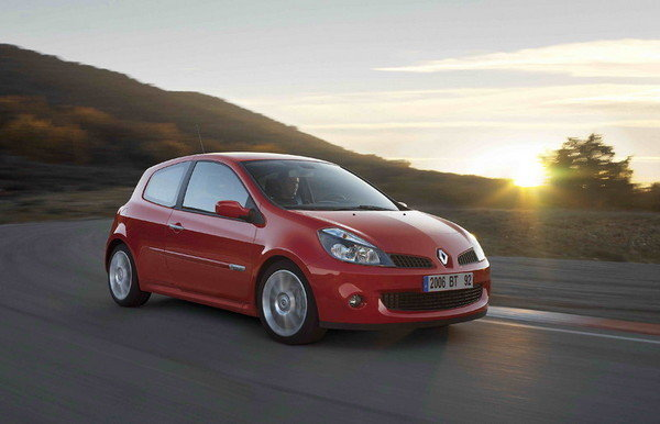 2007 renault clio rs car review top speed. Black Bedroom Furniture Sets. Home Design Ideas