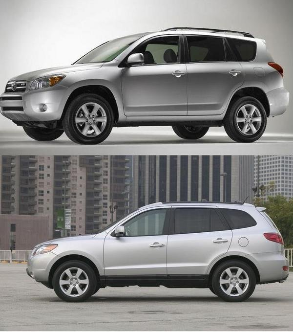 2007 SUV Look Alike: Rav4 Vs Santa Fe News