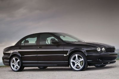 New look for Jaguar X-Type