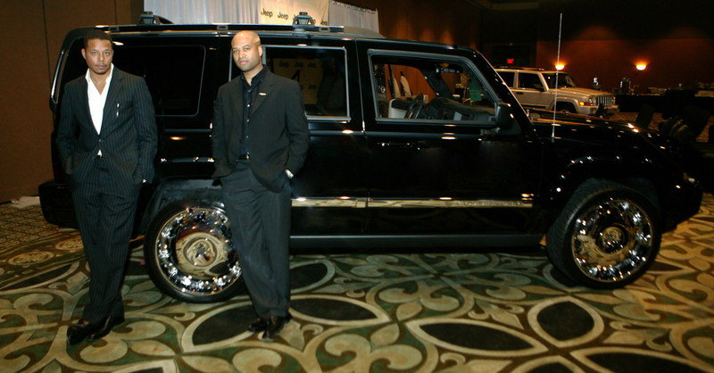Terrence Howard Puts His Signature on a 2006 Jeep® Commander to Help Diversify Automotive Design